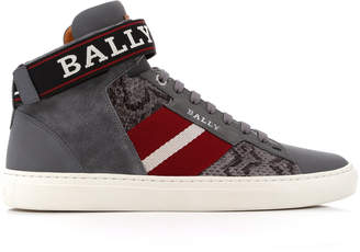 Bally Heros Strap High-Top Sneaker