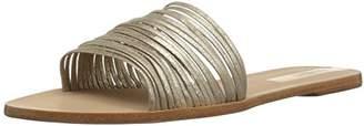 Kaanas Women's Guanabara Multi Strap Slide Leather Flat Sandal