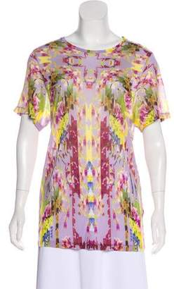 Matthew Williamson Printed Sheer Top