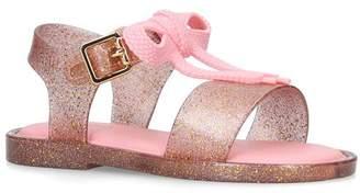 Mini Melissa Lace Bow Sandals