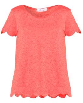 Dex Cotton-Blend Top $24 thestylecure.com