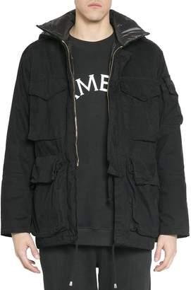 Amen Cotton And Nylon Jacket