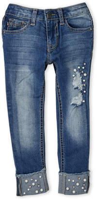 Vigoss Girls 4-6x) Embellished Ankle Skinny Jeans