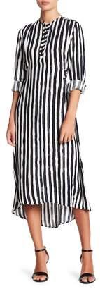 Couture Go Morelle Button Down Wrap Dress