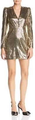 Rebecca Minkoff Sydney Sequined Mini Dress