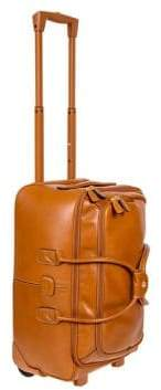 "Bric's Life Pelle 21"" Carry-On Rolling Tuscan Duffle Bag"