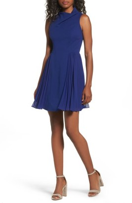 Women's Betsey Johnson Fit & Flare Dress $138 thestylecure.com