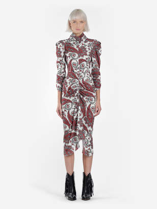 Isabel Marant WOMEN'S MULTICOLOR TIZY PRINTED DRESS
