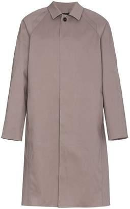 MACKINTOSH 0002 rubberised cotton trench coat