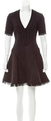 Jonathan Simkhai Polished Tweed Midi Dress w/ Tags