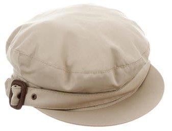 Burberry Burberry Woven Newsboy Hat