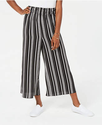 Ultra Flirt Juniors' Cropped Striped Pants