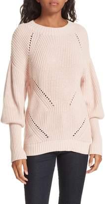 Joie Landyn Blouson Sleeve Sweater
