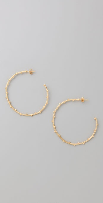 Gorjana Willow Hoops