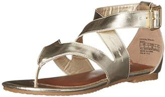 Kenneth Cole Reaction Crystal Strappy Fashion T-Strap Sandal (Little Kid/Big Kid)
