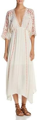 En Creme Embroidered Midi Dress - 100% Exclusive