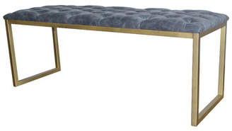 Mercer41 Kujawski Faux Leather Bench