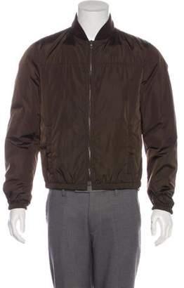 Prada Padded Bomber Jacket brown Padded Bomber Jacket