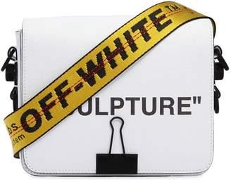 """Off-White """"Sculpture"""" Printed Leather Shoulder Bag"""