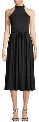 Rachel Pally Beth Halter Cutout Midi Dress, Plus Size