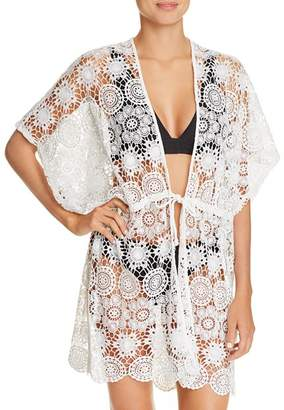 Echo Shell Lace Swim Cover-Up