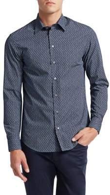 Emporio Armani Cotton Button-Down Shirt