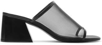 Rag & Bone Emmy Mesh Mules - Black