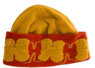 Hermà ̈s Cashmere Beanie Yellow Hermà ̈s Cashmere Beanie