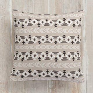 Southwestern Neutral Square Pillow