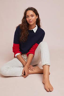 Sundry D'Amour Colorblock Sweater