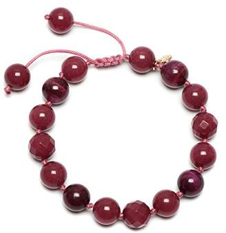 Lola Rose Kay Red Plum Quartzite Fuchsia Tigers Eye Bracelet