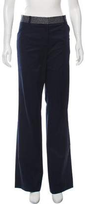 Tory Burch Embroidered Wide-Leg Pants