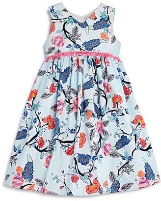 Pippa & Julie Girls' Floral Empire-Waist Dress - Little Kid