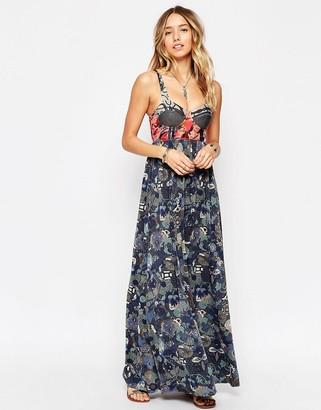 Maaji Printed Maxi Beach Dress $73 thestylecure.com