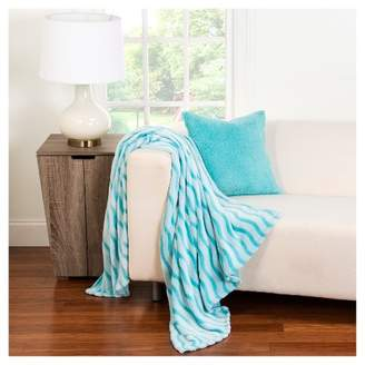 Crayola Fuzzy Throw Blanket