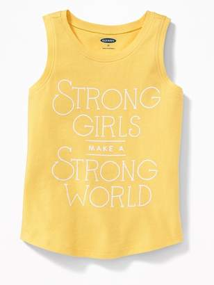 Old Navy Graphic Muscle Tank for Toddler Girls