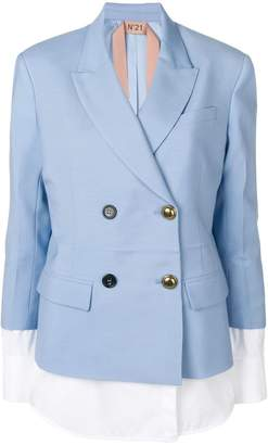 No.21 jacket with blouse details