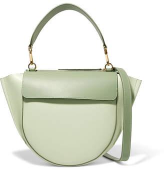 Hortensia Wandler Medium Leather Shoulder Bag - Mint