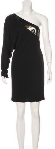 GucciGucci One-Shoulder Mini Dress w/ Tags