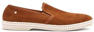 Rivieras Sultan slip-on suede loafers