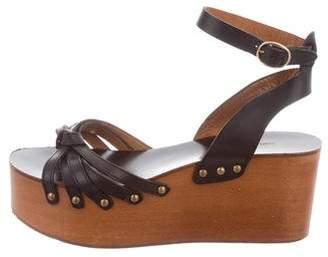 Etoile Isabel Marant Zia Wedge Sandals