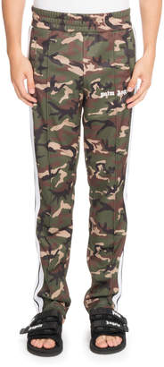 Palm Angels Classic Camouflage-Print Track Pants