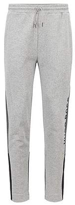 HUGO BOSS Colour-block jogging bottoms in French terry