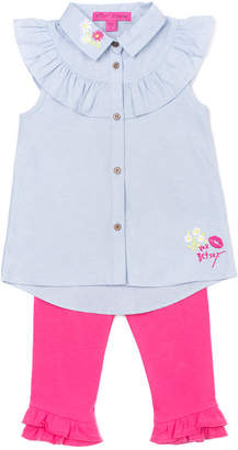 Betsey Johnson Girls' 2Pc Capri Set
