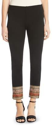 Karen Kane Piper Ribbon Cuff Skinny Pants
