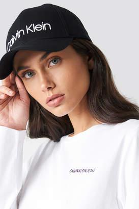 Calvin Klein Logo Embroidery Cap W