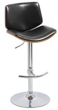 CLYDE Distinctly Home Gas Lift Barstool