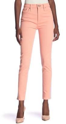 rag & bone\u002FJEAN High Waist Skinny Jeans (Peach\u002FLilac)