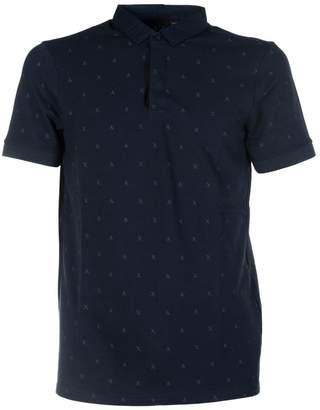 Armani Collezioni Scattered Logo Polo Shirt
