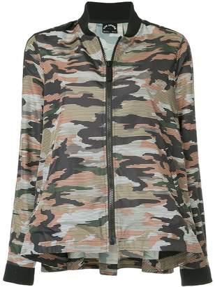 The Upside camouflage bomber jacket